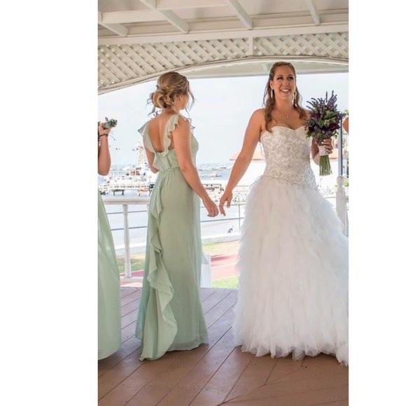 459d43935ba David s Bridal Dresses   Skirts - Meadow Green bridesmaids dress